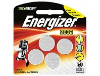 Briscoes NZ Energizer Lithium Coin 2032 Battery 4 Pack ECR2032BP4