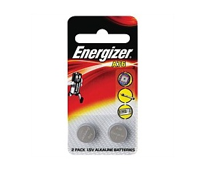 Energizer A76 Button Battery 2 Pack A76BP2