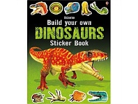 Briscoes NZ Usborne Build Your Own Dinosaurs Sticker Book