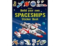 Briscoes NZ Usborne Build Your Own Spaceships Sticker Book