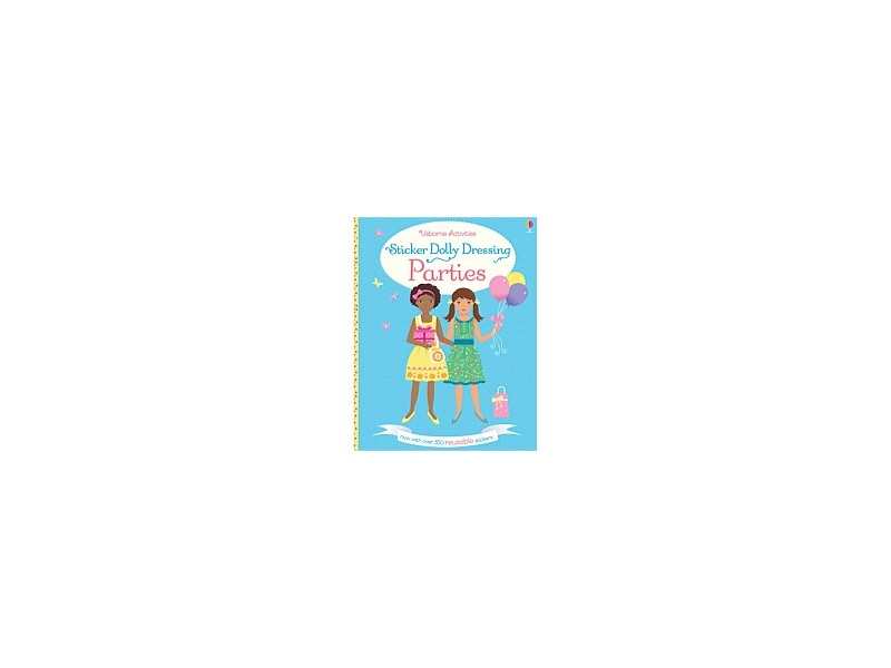 Usborne Sticker Dolly Dressing Parties Book