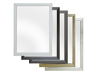Briscoes NZ Rembrandt Classic Wall Mirror Assorted Colours 350x500mm