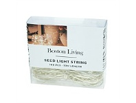 Briscoes NZ Boston Living Seed Chain Lights 100 Piece 10 Meters