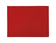 Briscoes NZ Just Home Cuisine Spill Proof Red Placemat