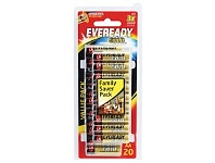 Briscoes NZ Eveready Gold Battery AA 20 Pack A91HP20
