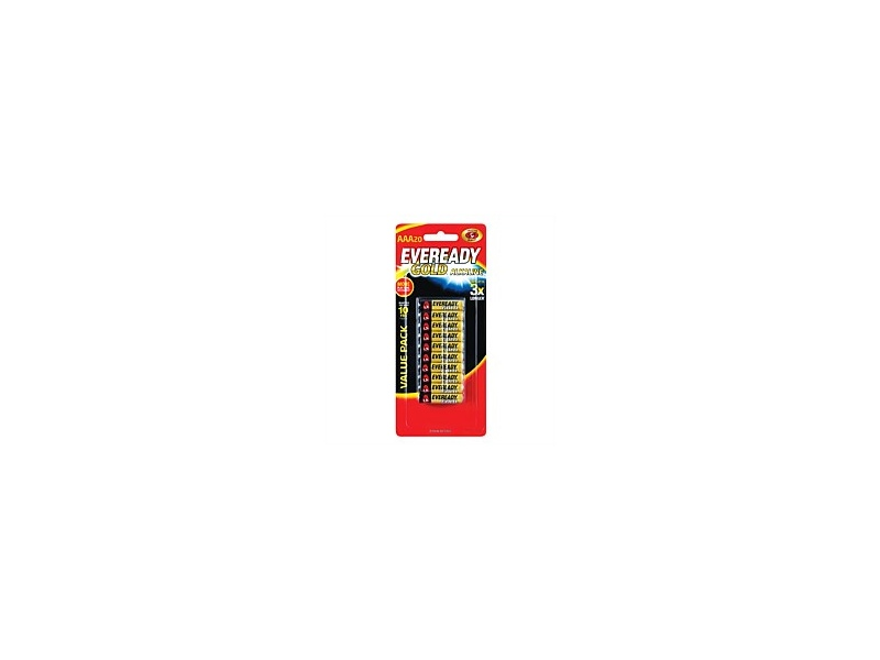 Eveready Gold Battery AAA 20 Pack A92HP20