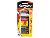 Briscoes NZ Energizer Max Battery AA 16 Pack E91RP16T