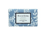 Briscoes NZ Boston Living Lemongrass Scented Soap Cream Floral 150g