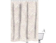 Briscoes NZ Just Home Floral Shower Curtain Pink 180x180cm