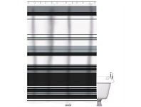Briscoes NZ Just Home Winslow Shower Curtain 180x180cm
