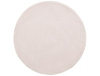 Briscoes NZ Just Home Evangeline Round Taupe Slub Placemat
