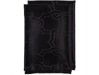 Briscoes NZ Just Home Floral Chain Napkin Black 45x45cm 2pk