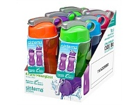 Briscoes NZ Sistema Hourglass Drink bottle 475ml Assorted