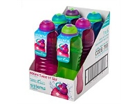 Briscoes NZ Sistema Twist N Slip Drink Bottle 460ml Assorted