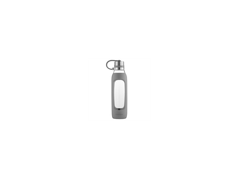 Contigo Purity Glass Drink Bottle Grey 591ml