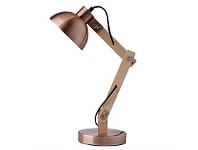 Briscoes NZ Tablefair Dexter Table Lamp Copper Brush