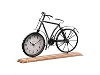Briscoes NZ Bike Design Table Clock 41.5x10x29cm