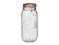 Briscoes NZ Simon Gault OF Preserve S/S Clip Top Jar w/Silicon Ring 2L