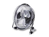 Briscoes NZ Goldair Select USB Personal Fan Chrome 10cm