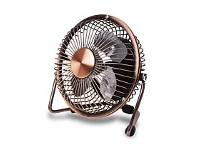 Briscoes NZ Goldair Select USB Personal Fan Copper Colour 10cm