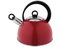 Briscoes NZ Wiltshire Whistling Kettle Red 2.3L