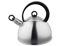 Briscoes NZ Wiltshire Whistling Kettle Stainless Steel Matt 2.3L