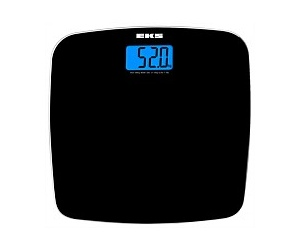 EKS Bathroom Scale Glass 9653SV