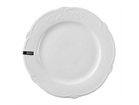 Briscoes NZ Hampton & Mason Luxury White Bone China Dinner Plate 26.8cm