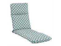 Briscoes NZ Outdoor Creations Lounge Cushion Blue Pattern