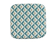 Briscoes NZ Outdoor Creations Chair Pad Blue Pattern