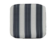 Briscoes NZ Outdoor Creations Chair Pad Blue Stripe