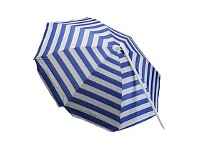 Briscoes NZ Rocky Mountain Beach Umbrella Navy 180cm