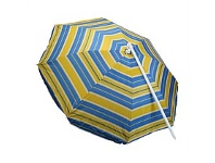 Briscoes NZ Rocky Mountain Beach Umbrella Yellow 180cm