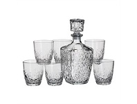 Briscoes NZ Bormioli Rocco Dedalo Whiskey Set 7pc