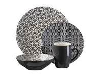 Briscoes NZ Thompson Mosaic Granite Dinnerset 16 Piece