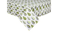 Briscoes NZ Just Home Leaves Greenery Tablecloth 150x225cm