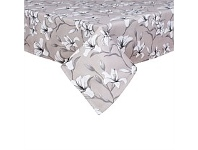 Briscoes NZ Just Home Lily Taupe Tablecloth 150x260cm