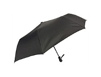 Briscoes NZ Umbrella Auto Open Folder Black