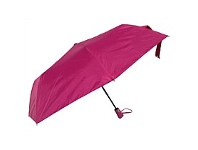 Briscoes NZ Umbrella Auto Open Folder Fushia