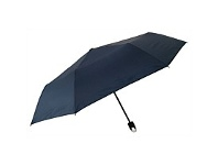 Briscoes NZ Umbrella Manual Open With Caribena Handle Navy