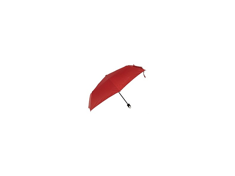 Umbrella Manual Open With Caribena Handle Red