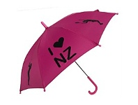 Briscoes NZ Childrens Umbrella Sports Printed Pink