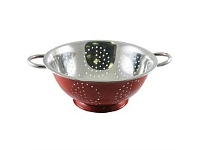 Briscoes NZ Wiltshire Colander Red 28cm