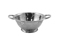 Briscoes NZ Wiltshire Deep colander Stainless Steel 24cm