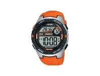Bevilles Lorus Orange Digital Watch R2303NX-9