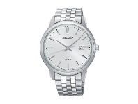 Bevilles Seiko Men's Silver Stainless Steel Watch SUR257P