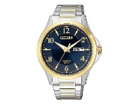 Bevilles Citizen Two-Tone Watch with Midnight Blue Dial BF2005-54L