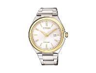 Bevilles Citizen Gents Eco-Drive Two Tone Watch AW1374-51B