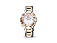 Bevilles Citizen Womens Eco-Drive Diamond Watch EM0654-88D
