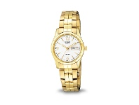Bevilles Citizen Womens Gold Watch EQ0542-51A